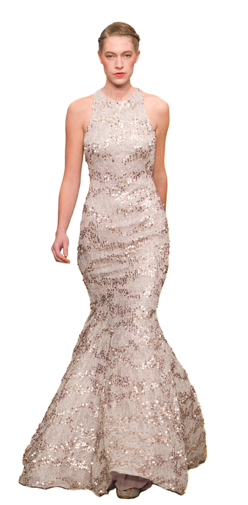 Ariella Sequin Fishtail Gown Hire At Girl Meets Dress Cocktail