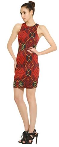 McQueen Tartan Dress