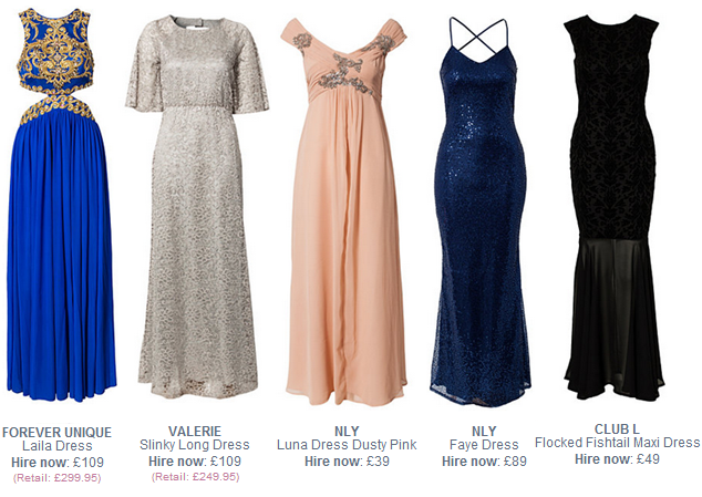 Rent Designer Dresses