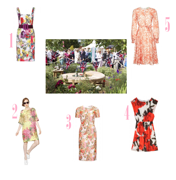 Girl Meets Dress and RHS Hampton Court Flower Show Post