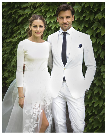 So The Highly Fashionable Olivia Palermo Got Married This Week Shocked Us All As Pictures Emerged Of Her Less Than Traditional Wedding Outfit