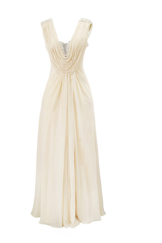 Elliot Claire - Cream toned gown £79 (retail £250)