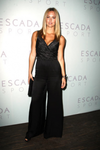 Model Bar Refaeli at ESCADA SPORT