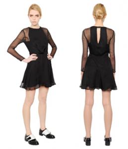 Karl Largerfeld - Polka Dot Silk Dress