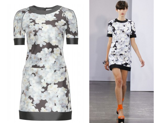 Hire the Victoria Beckham Plumerias Print Dress at Girl Meets Dress
