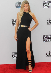 Fergie in Halston Heritage at the American Music Awards