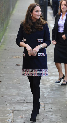 Kate Middleton, Duchess of Cambridge in the Naomi Dress. Hire Madderson London at Girl Meets Dress