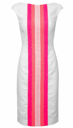 The Erica by Madderson London is a bright dress, cut to perfectly flatter and showcase the female form. Hire this bright dress now from Girl Meets Dress