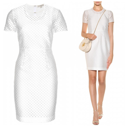 Carlyss White Burberry Dress Girl Meets Dress