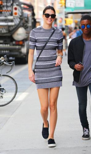 Kendall Jenner Alexander Wang Dress Girl Meets Dress