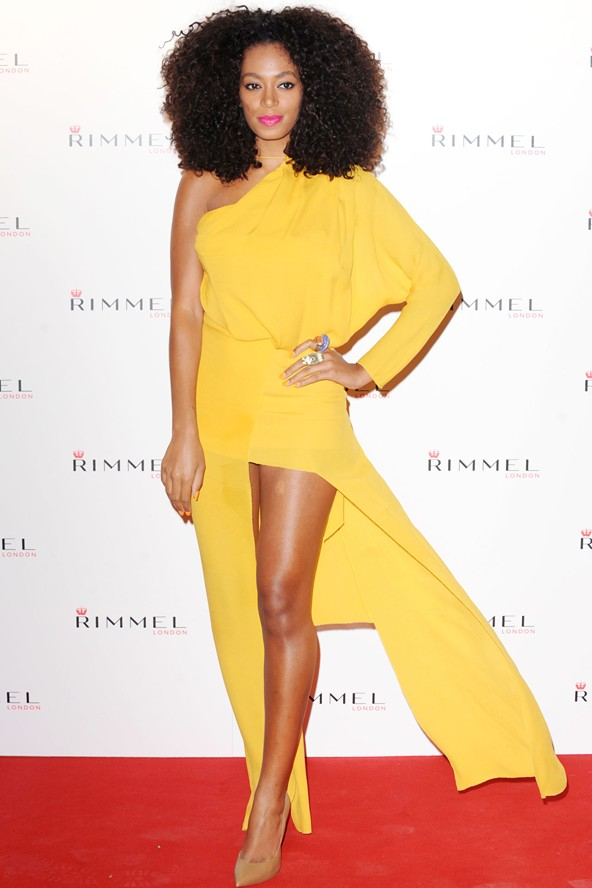 Solange Knowles ACNE Dresses Girl Meets Dress
