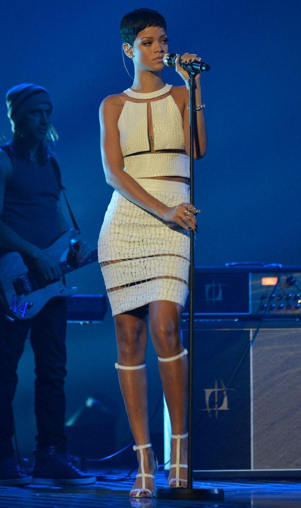 Rihanna Alexander Wang Dress