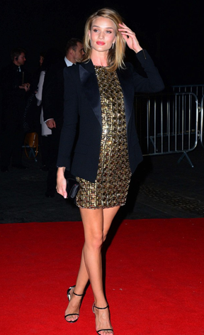 Brits Dresses Rosie Huntington-Whiteley Girl Meets Dress