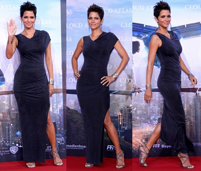 Halle Berry Helmut Lang Dresses Girl Meets Dress