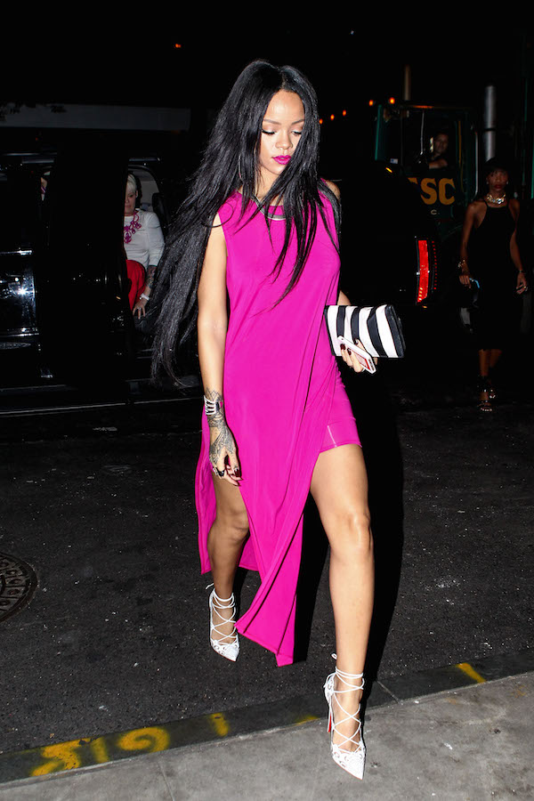 Rihanna Helmut Lang Dresses Girl Meets Dress