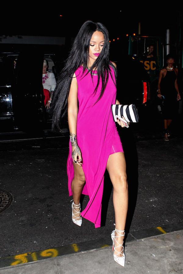 Rihanna Helmut Lang Dresses Girl Meets Dress