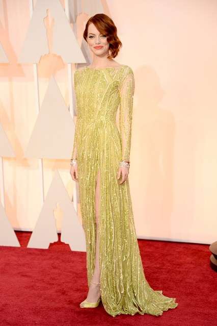 Oscars dresses Emma Stone Girl Meets Dress