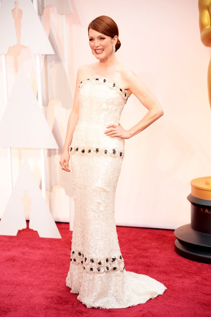Oscars Dresses Julianne Moore Girl Meets Dress