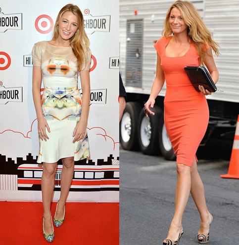 Blake Lively Roland Mouret Girl Meets Dress