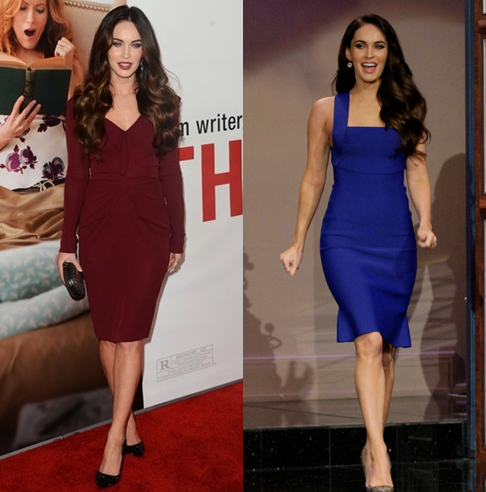 Megan Fox Roland Mouret Dresses Girl Meets Dress