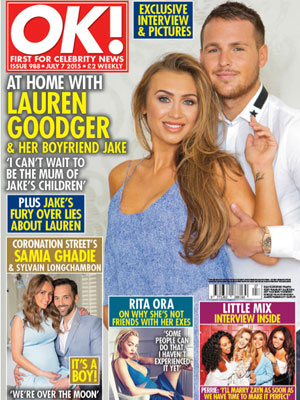 Lauren Goodger - OK! Magazine