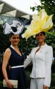 Ascot Isabel Kirstensen and her daughter Nicola