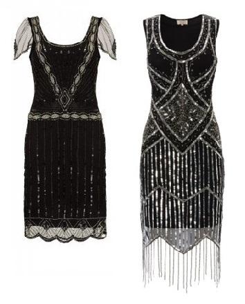Eva Sleeve Flapper Dress £85 Isobel Black Fringe Dress £85