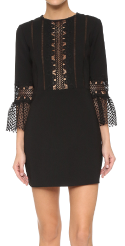 self_portrait_bell-sleeved_woven_shift_dress_hire_large