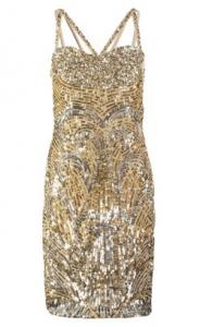 VIRGOS LOUNGE - Steel Cocktail Dress (Hire - £69)