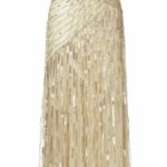 Ariella - Juliet Sequin Gown Gold  (Hire - £69)