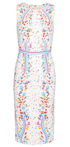 PETER PILOTTO - Kia Gem Print Dress (Hire - £79)