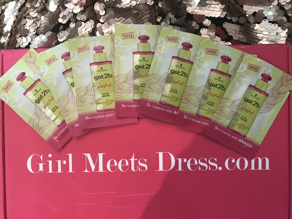 Hair Primer and Girl Meets Dress 1