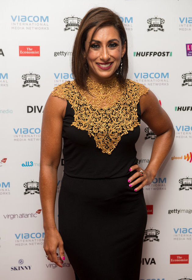 LONDON, ENGLAND - SEPTEMBER 15: Saira Khan poses for photographs at the Diversity in Media Awards on September 15, 2017 in London, England. (Photo by Chris J Ratcliffe/Getty Images)