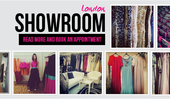 London Dress Hire Showroom