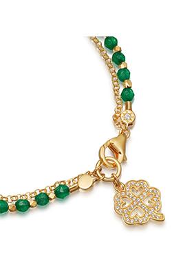 yellow-gold-vermeil-green-onyx-four-leaf-clover-biography-bracelet 2