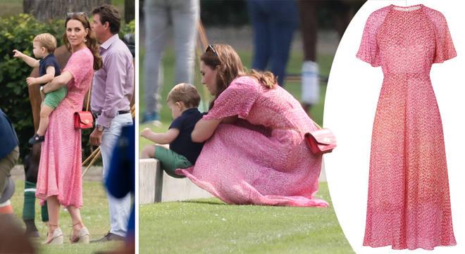 Kate pink LK Bennett dress polo