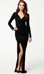 long black tie dress 5
